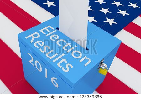 Election Results 2016 Concept