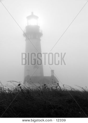 Foggy Lighthouse