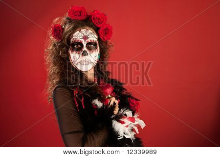 Rose Decked Lady