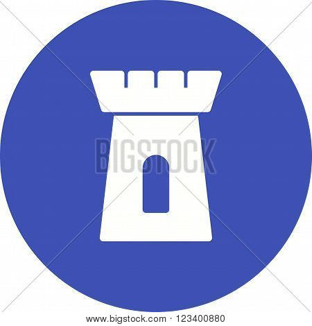 Castle, bouncy, jumping icon vector image.Can also be used for games entertainment. Suitable for mobile apps, web apps and print media.