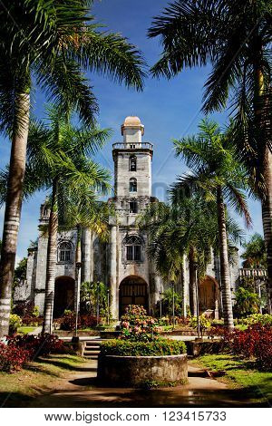 Historic Spanish cathedral on Bohol Island, Philippines