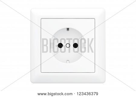 Power Electric Socket on a white background-100.44 cm