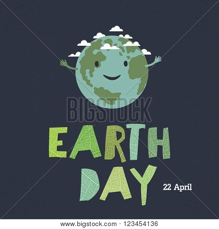 Earth day, 22 April.