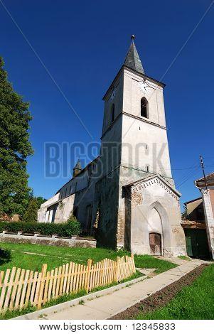 Fortified Church In Transylvania, Richis, Romania