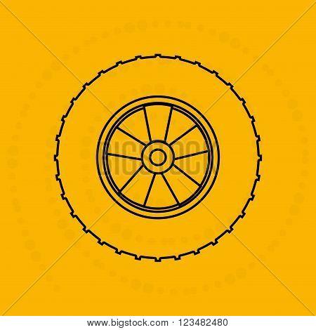 auto  service design, vector illustration eps10 graphic