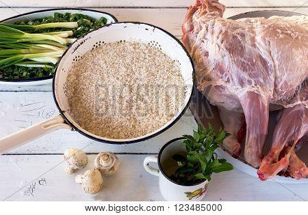 Raw Whole Lamb
