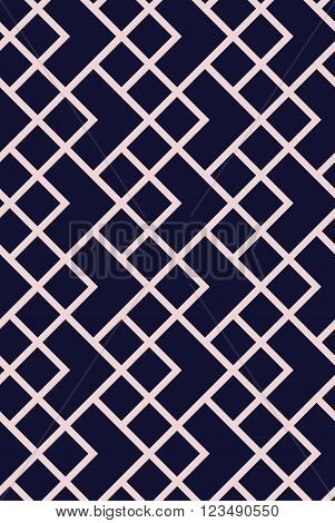 Vector seamless pattern. Modern stylish texture. Repeating geometric tiles. Monochromatic geometric pattern