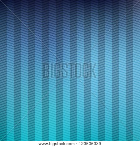 Retro styled background with zig zag pattern