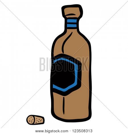 bottle cartoon