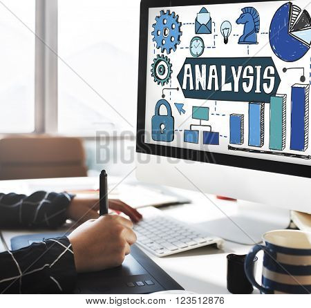 Analysis Information Analytics Planning Concept