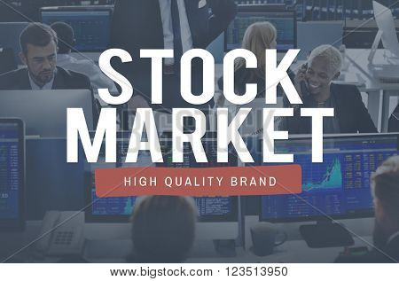 Stock Market Economy Investment Financial Concept