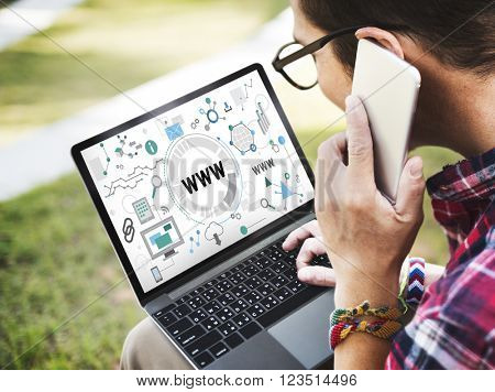 Www Website Internet Online Connection Concept
