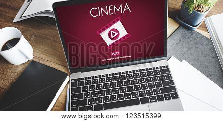 Cinema Theater Multimedia Film Entertainment Concept