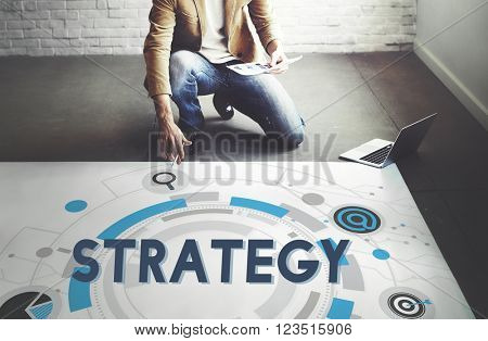 Strategy Development Statistics Solution Process Concept