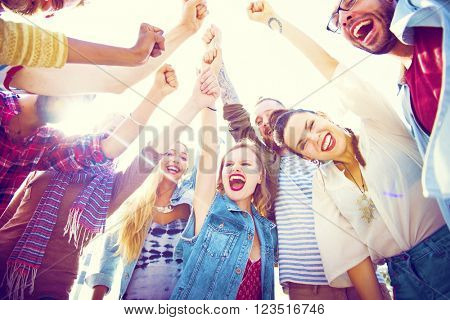 Friends Friendship Leisure Vacation Togetherness Fun Concept