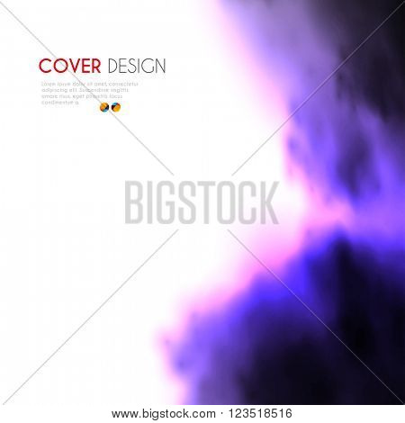 Cover Annual Flyer Poster card easy editable