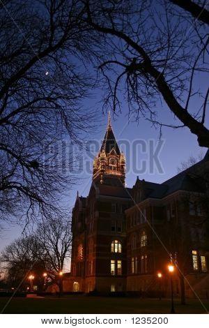 a steeple on friends university