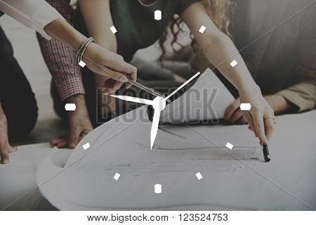 Clock Time Alarm Organization Appointment Accuracy Concept