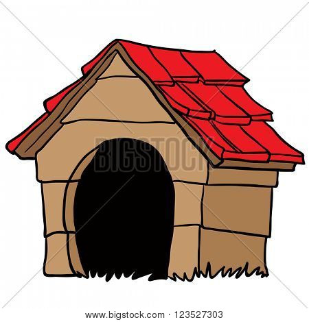 dog house cartoon