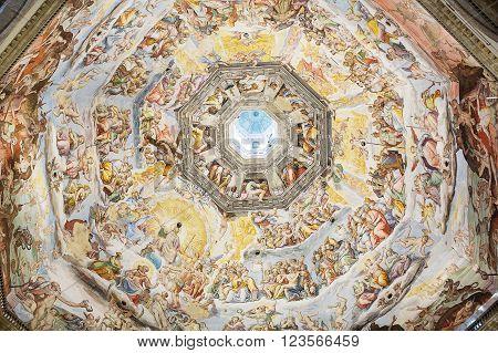Interior Of Medici Chapel Florence