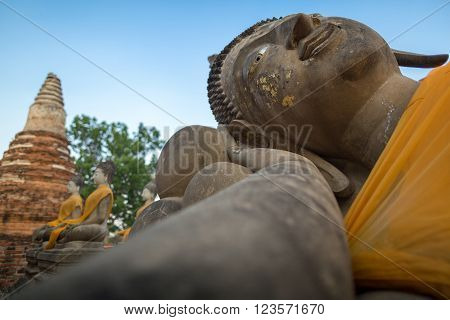 Giant Reclinning Buddha