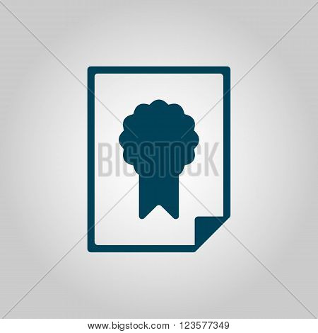 Charter Icon In Vector Format. Premium Quality Charter Icon. Web Graphic Charter Icon Sign On Grey B