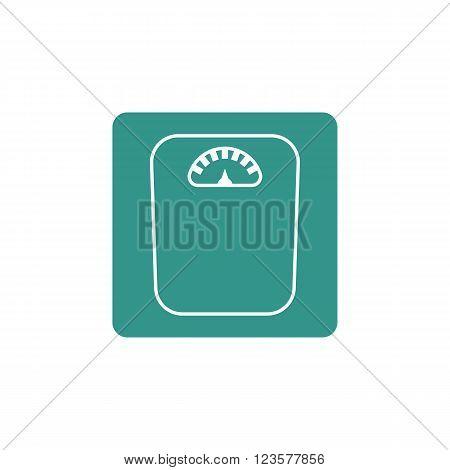 Libra Icon In Vector Format. Premium Quality Libra Icon. Web Graphic Libra Icon Sign On Green Backgr