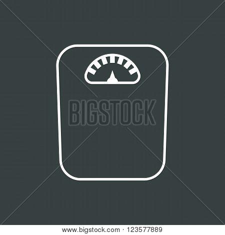 Libra Icon In Vector Format. Premium Quality Libra Icon. Web Graphic Libra Icon Sign On Dark Backgro