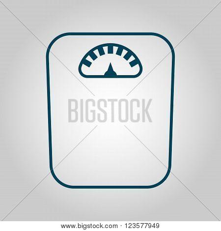 Libra Icon In Vector Format. Premium Quality Libra Icon. Web Graphic Libra Icon Sign On Grey Backgro