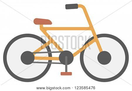 New classic bicycle.