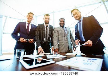 Modern businessmen