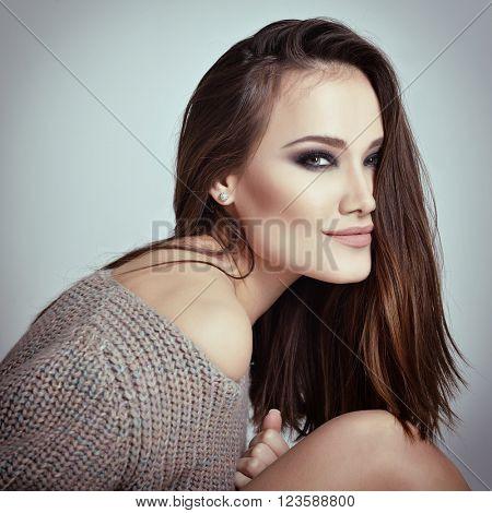 Gorgeous woman. Beauty female portrait.