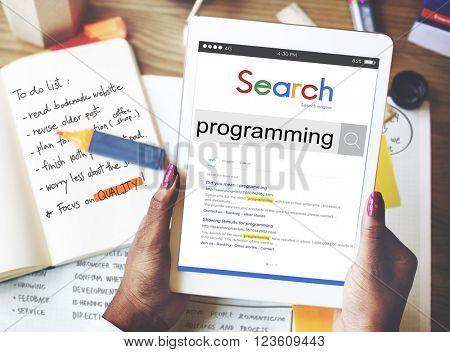 Program Programming Computer Technology Digital Concept