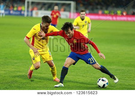 David Silva Football Player In Action