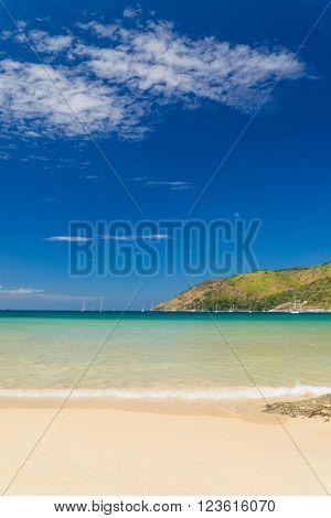 Nai Harn beach in Phuket Thailand