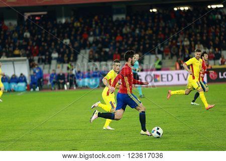 Romania Vs Spain Match Before Euro 2016