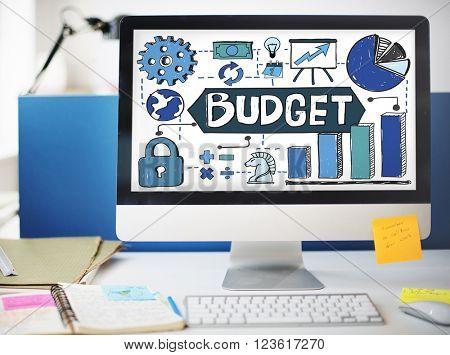Budget Finance Economy Cash Flow Concept