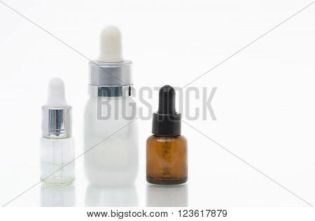 Isolated Serum Bottles