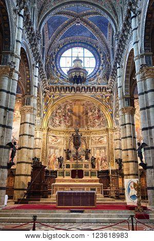 Interior Of Duomo Di Siena