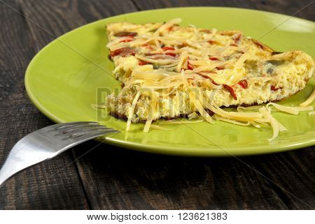 Omelet With Peppers