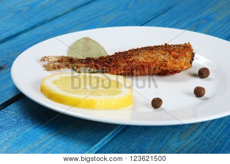 Fried Fish With Lemon