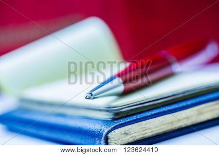 Paper Blocks With Pen