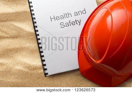 Helmet On Sand