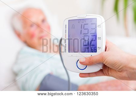 Digital Blood Pressure And Heart Rate Measuring