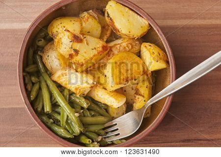It is image of delicious vegan food. ** Note: Soft Focus at 100%, best at smaller sizes