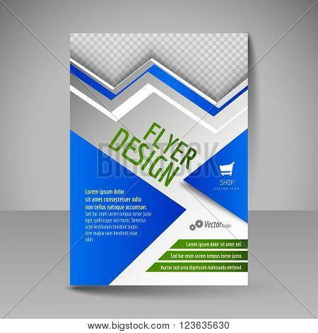 Flyer, Magazine Cover, Brochure, Template Design For Business Education, Presentation, Website.