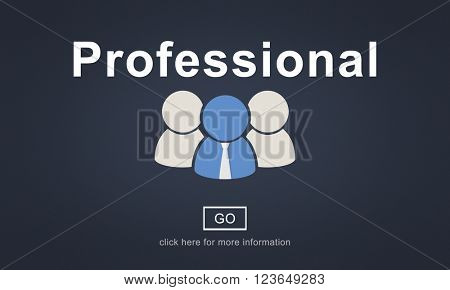 Professional Ability Skilled Expertise Proficiency Concept