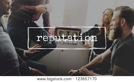 Reputation Business Brand Marketing Concept