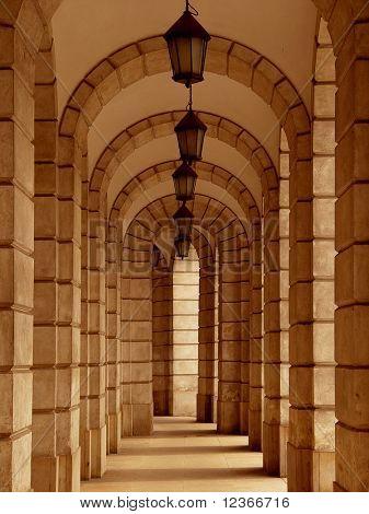 columns background