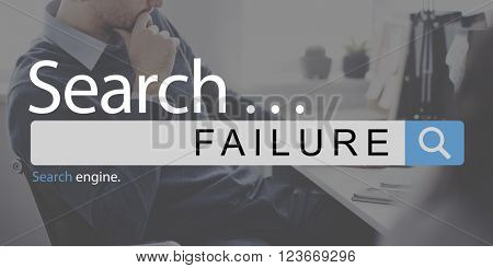 Failure Loss Depression Unsuccessful Concept
